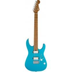 CHARVEL PRO MOD DK24 HH 2PT CM GUITARRA ELECTRICA MATTE BLUE FROST