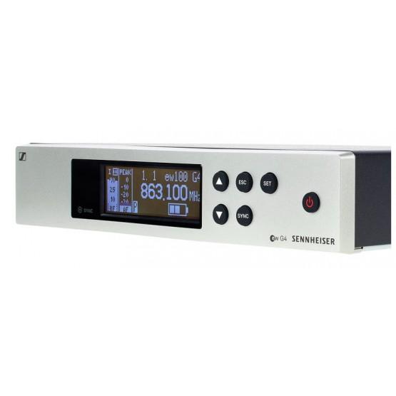 SENNHEISER EW100 G4-835-S RANGO A SISTEMA INALAMBRICO MICROFONO DE MANO.