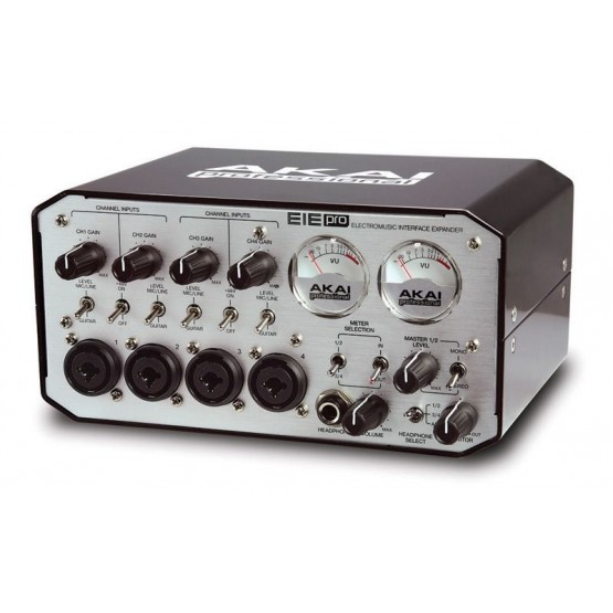 AKAI EIE PRO INTERFACE AUDIO/MIDI CON DISTRIBUIDOR USB 2.0.