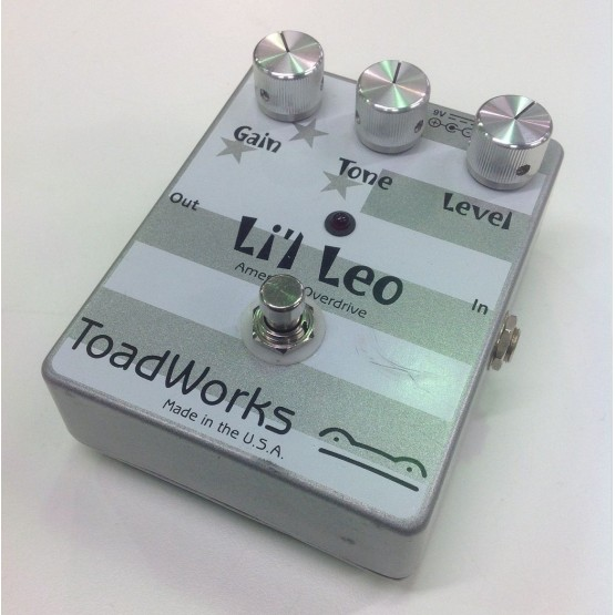 TOAD WORKS LI'L LEO PEDAL OVERDRIVE GUITARRA ELECTRICA. DEMO.