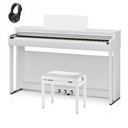 KAWAI -PACK- CN29 WH PIANO DIGITAL BLANCO + BANQUETA Y AURICULARES