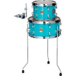TAMA LJKT10F14 AQB CLUB JAM TOM 10 FLOOR TOM 14 AQUA BLUE
