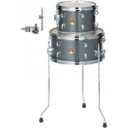 TAMA LJKT10F14 GXS CLUB JAM TOM 10 FLOOR TOM 14 GALAXY SILVER