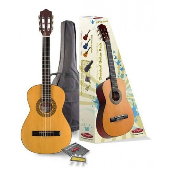 STAGG C510 PACK GUITARRA ESPAÑOLA 1/2 CON FUNDA