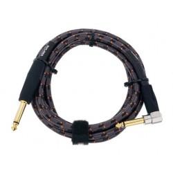 ROLAND RIC-G5A CABLE INSTRUMENTO GOLD SERIES JACK ANGULADO JACK RECTO 1.5 METROS