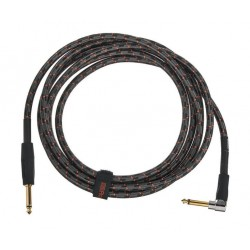 ROLAND RIC-G10A CABLE INSTRUMENTO GOLD SERIES JACK ANGULADO JACK RECTO 3 METROS