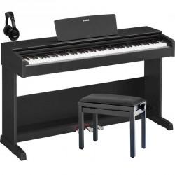 YAMAHA -PACK- YDP103B PIANO DIGITAL ARIUS NEGRO + BANQUETA Y AURICULARES