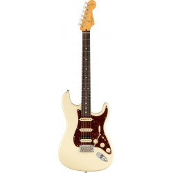 FENDER AMERICAN PROFESSIONAL II STRATOCASTER HSS RW GUITARRA ELECTRICA OLYMPIC WHITE