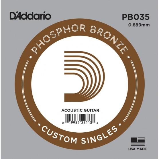 DADDARIO PB035 CUERDA GUITARRA ACUSTICA BRONZE