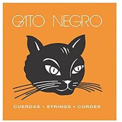 GATO NEGRO 3ª CUERDA GUITARRA ESPAÑOLA NYLON BLANCO