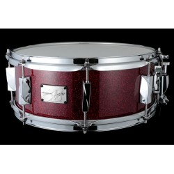 CANOPUS JSM-1455 DRSPKL DIE-CAST YAIBA II MAPLE CAJA BATERIA 14X5.5 DARK RED SPARKLE