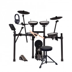 ROLAND -PACK- TD07KV BATERIA ELECTRONICA+ PEDAL BOMBO+ ASIENTO+ AURICULARES Y BAQUETAS
