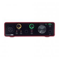 FOCUSRITE SCARLETT SOLO 3RD GENERATION INTERFAZ DE AUDIO USB