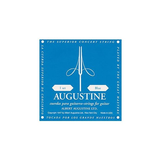 AUGUSTINE AU45BL 5A CUERDA GUITARRA ESPAÑOLA TENSION ALTA
