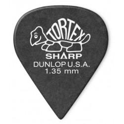 DUNLOP 412R135 TORTEX SHARP PUA 1.35MM. UNIDAD