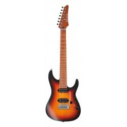IBANEZ AZ24027 TFF PRESTIGE GUITARRA ELECTRICA 7 CUERDAS TRIFADE BURST. NOVEDAD