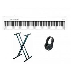 ROLAND -PACK- FP30X WH PIANO DIGITAL BLANCO + SOPORTE TIJERA Y AURICULARES