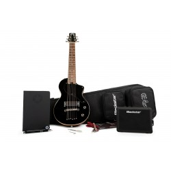 BLACKSTAR CARRY ON JBLK DELUXE PACK GUITARRA ELECTRICA MINI NEGRA JET BLACK. NOVEDAD