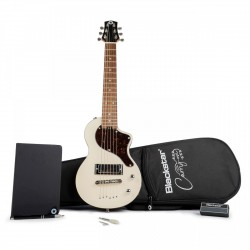 BLACKSTAR CARRY ON VWHT STANDARD PACK GUITARRA ELECTRICA MINI VINTAGE WHITE. NOVEDAD