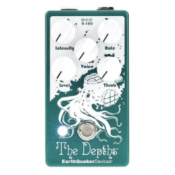 EARTHQUAKER DEVICES THE DEPTHS V2 PEDAL TREMOLO