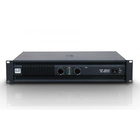 LD SYSTEMS DP 600 AMPLIFICADOR DE PA 2X300W