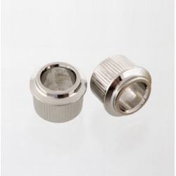 ALL PARTS TK0900001 ADAPTER BUSHINGS (6 PIECES) NICKEL, RETURN TO VINTAGE POST KEYS 3/8 (95MM) OD