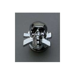 GROVER AP6676010 SKULL STRAP BUTTON SYSTEM (2) CHROME