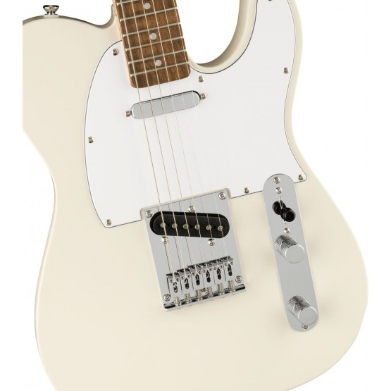 SQUIER AFFINITY TELECASTER IL GUITARRA ELECTRICA OLYMPIC WHITE. NOVEDAD