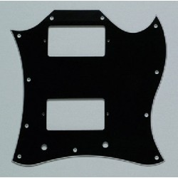 ALL PARTS PG9803033 PICK GUARD FOR SG FULL FACE 3-PLY BLACK (B/W/B)