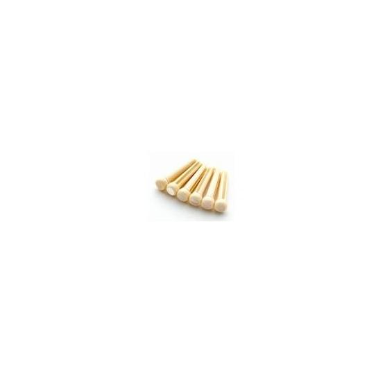 ALL PARTS BP2858080 CREAM PLASTIC BRIDGE PIN (6 PIECES).