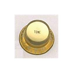 ALL PARTS PK0182032 REFLECTOR CAP TONE KNOBS (2) GOLD FITS USA SPLIT SHAFT POTS