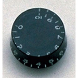 ALL PARTS PK0130023 SPEED KNOBS (2) BLACK VINTAGE STYLE NUMBERS