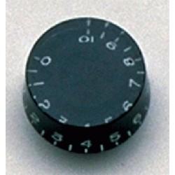 ALL PARTS PK0130023 SPEED KNOBS (2) BLACK, VINTAGE STYLE NUMBERS