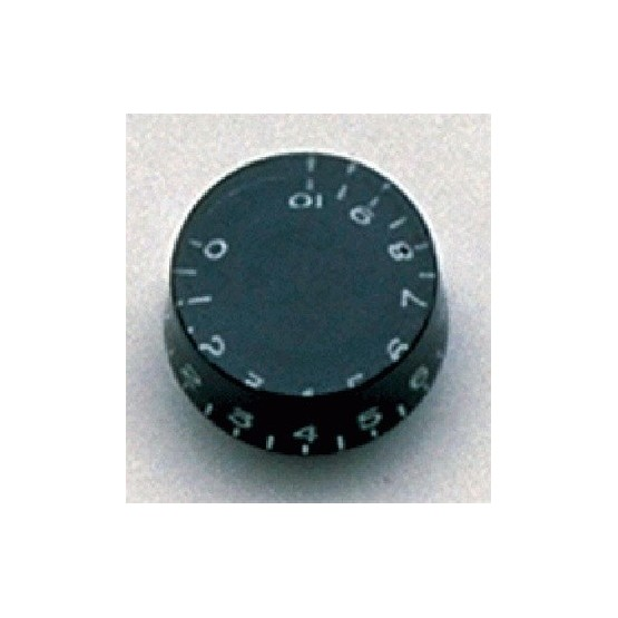ALL PARTS PK0130023 SPEED KNOBS (2) BLACK, VINTAGE STYLE NUMBERS