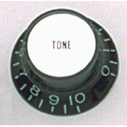 ALL PARTS PK0182023 REFLECTOR CAP (SILVER) TONE KNOBS (2) BLACK
