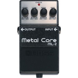 BOSS ML2 PEDAL METAL CORE DISTORSION