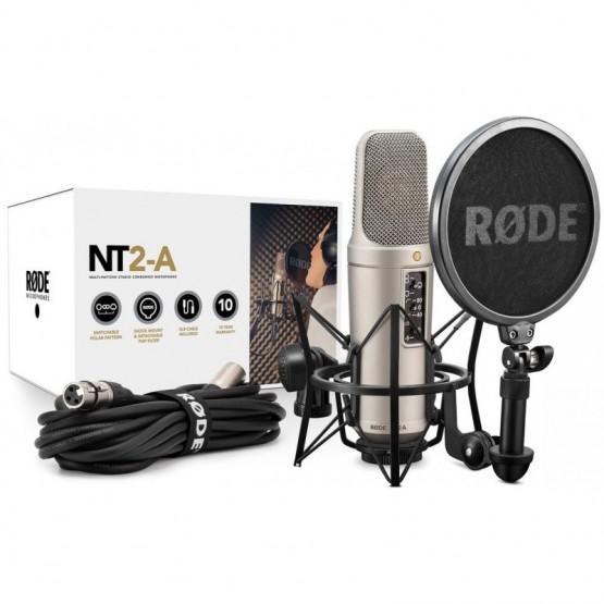 RODE NT2 A STUDIO SOLUTION KIT MICROFONO DE CONDENSADOR
