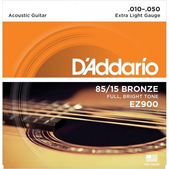 DADDARIO EZ900 JUEGO CUERDAS GUITARRA ACUSTICA 010-050