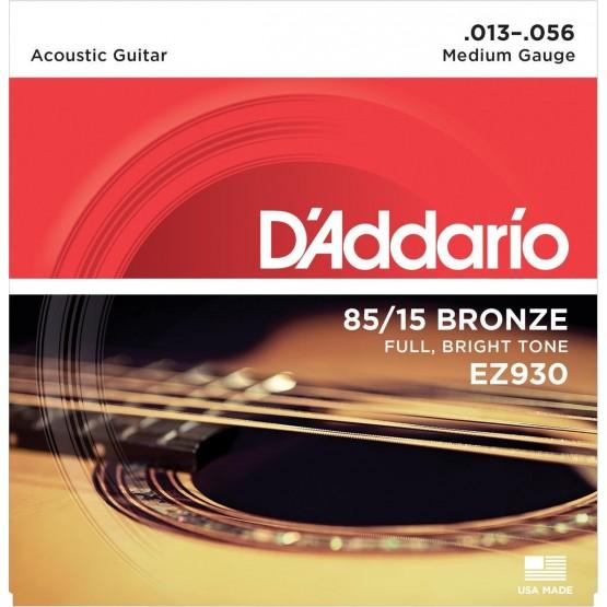 DADDARIO EZ930 JUEGO CUERDAS GUITARRA ACUSTICA 013-056