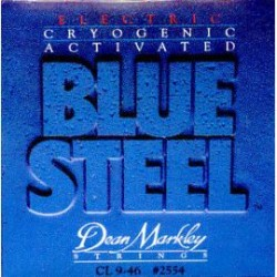 DEAN MARKLEY 2554 BLUE STEEL JUEGO CUERDAS ELECTRICA 009046