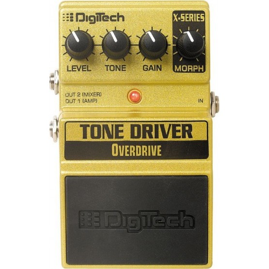 DIGITECH XTD TONE DRIVE PEDAL OVERDRIVE. DEMO.