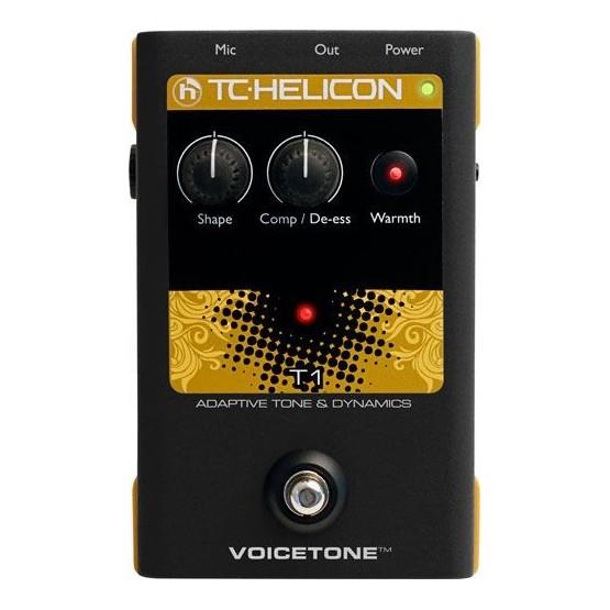 TC HELICON VOICETONE T1 PEDAL EFECTOS VOZ.