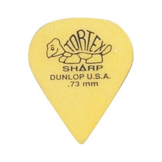 DUNLOP 412R73 TORTEX SHARP PUA 0.73MM. UNIDAD