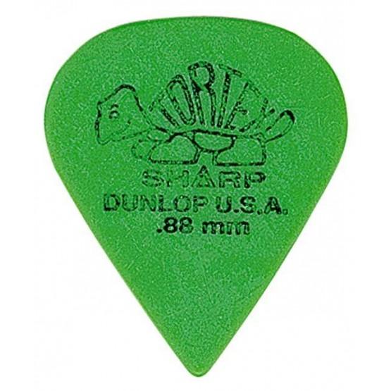 DUNLOP 412R88 TORTEX SHARP PUA 0.88MM. UNIDAD