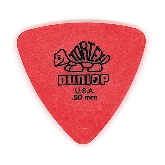 DUNLOP 431R50 TORTEX TRIANGLE PUA 0.50. UNIDAD