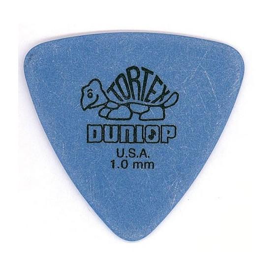 DUNLOP 431R100 TORTEX TRIANGLE PUA 1.00. UNIDAD