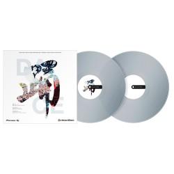 PIONEER DJ RB VD2 CL PAREJA VINILOS DE CONTROL REKORDBOX DVS TRANSPARENTES