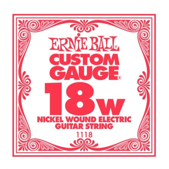 ERNIE BALL 1118 CUERDA 018 GUITARRA ELECTRICA