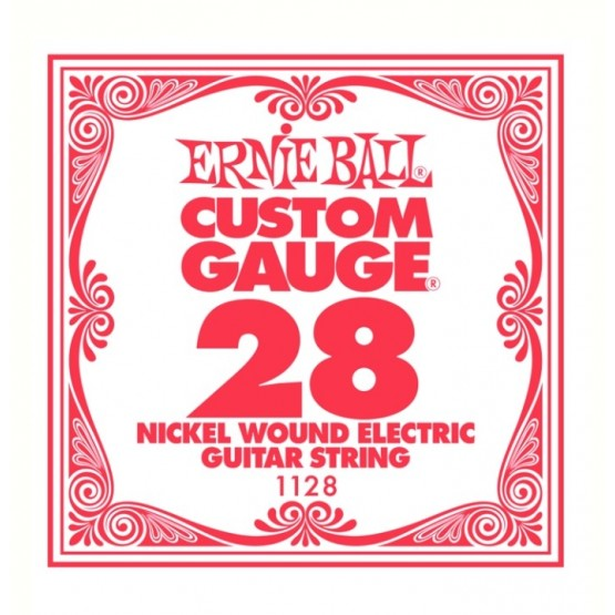 ERNIE BALL 1128 CUERDA 028 GUITARRA ELECTRICA