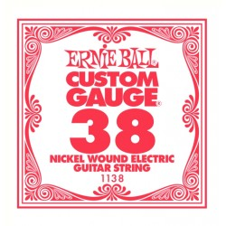 ERNIE BALL 1138 CUERDA 038 GUITARRA ELECTRICA.